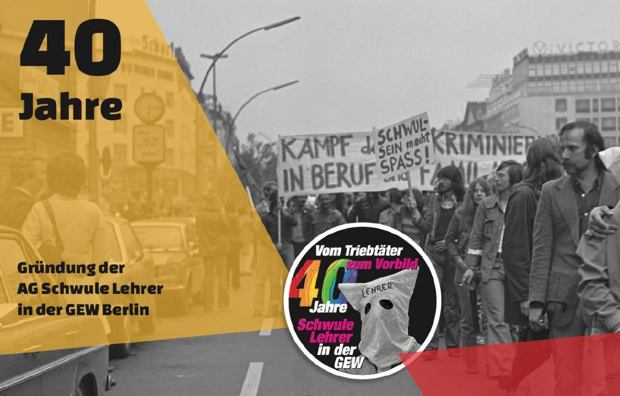 GEW is celebrating the 40th anniversary of the first Gay